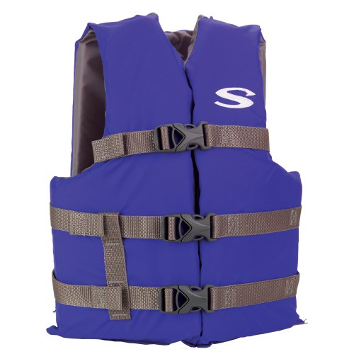 Stearns Youth Classic Boating Vests (Blue,50 - 90 Pound)