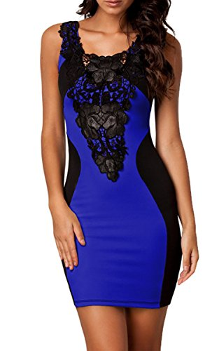 Zeagoo-Womens-Sleeveless-Lace-Neck-Dress-Evening-Cocktail-Party-Dress