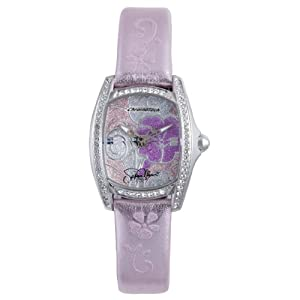 Hello Kitty Pink Floral Stainless Steel Watch