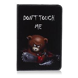 Samsung Galaxy Tab E 9.6 inch SM-T560/T561/T567 Tablet Impact Resistant Case, Folio Stylish soft Rubber Hard Plastic Premium PU Flip Kickstand TPU Slim Fit Case with Card/Cash Slots