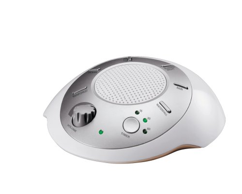 HoMedics SS-2000 Sound Spa Relaxation Sound Machine with 6 Nature