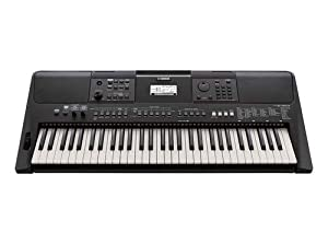 Yamaha PSR-E463 Ultra-Premium Keyboard Package with Stand, Sustain Pedal, Headphones, and AC Adapter