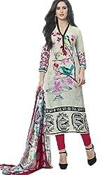 Vivacity Women's Cotton Unstitched Dress Material (Shehnaz-04_Multi_Free Size)