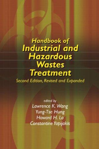 Handbook Of Industrial And Hazardous Wastes Treatment