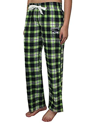 NFL Seattle Seahawks WOMENS Fall / Winter Plaid Pajama Pants
