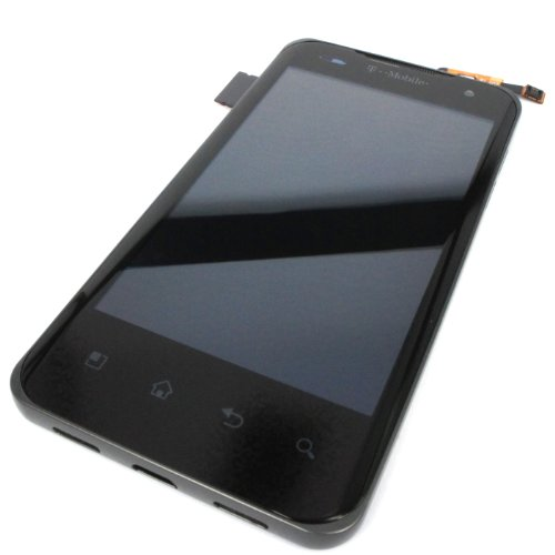 Generic Original Assembly Full Lcd Display Touch Digitizer Glass Compatible For Lg T-Mobile Lg G2X P990 P999 Black