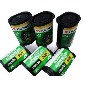 10 Rolls Fujifilm APS 800 Film 25 Exp