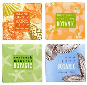 Tropical Breeze Soap Sampler - Boxed Set of 4