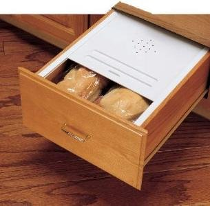 Rev-A-Shelf Bread Drawer Cover 16-3/4in wide Almond