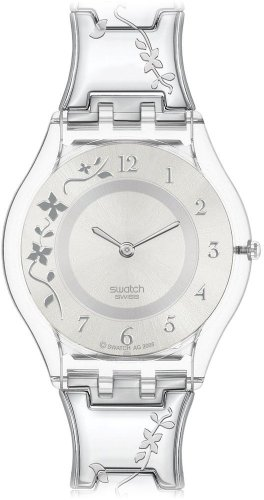 swatch-ladies-climber-flowery-silver-dial-bracelet-watch
