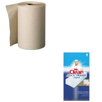 KITGEP26401PAG82027 - Value Kit - Georgia Pacific Nonperforated Paper Towel Rolls (GEP26401) and Mr. Clean Magic Eraser Foam Pad (PAG82027)
