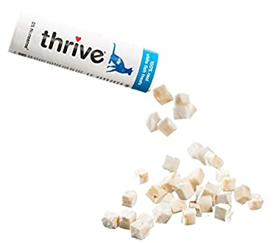 thrive Cat 100% WHITE FISH TREATS 25g (PACK OF 12)