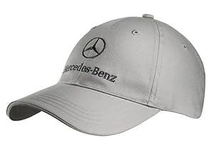 Mercedes benz baseball cap mens cappello grigio cotone for Mercedes benz hat amazon