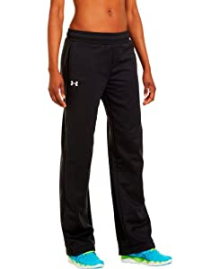 Under Armour Women's Armour® Fleece Team Pants Small Black