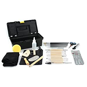 SE Pottery Tool Sets - (34 Piece)