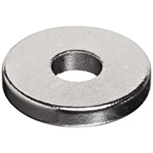 "Neodymium Rare Earth Magnet Rings, 3/8"" Outer Diameter, 1/8 "" Inner Diameter, 1/16"" Thick (Pack of 12)"