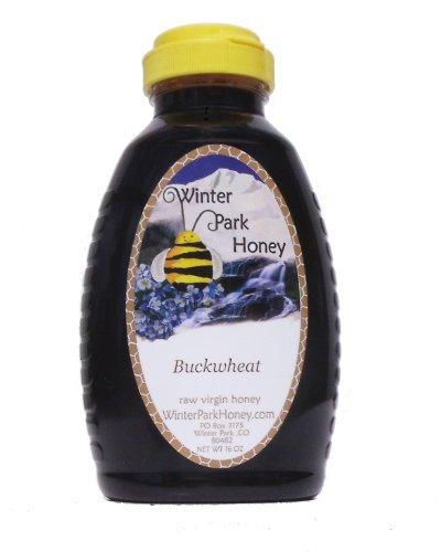 Raw Buckwheat Honey 16oz (Natural Pure Honey)