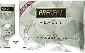 Precept Lady Forever Long Golf Balls 1 Dozen by Bridgestone