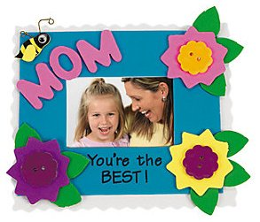 Mother 39 s day foam photo magnet craft kit 12 for Mother s day craft kits
