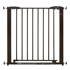 Dreambaby Brighton Pressure Mounted Gate Brown