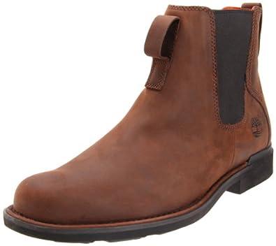 亚马逊美国独品断码价Timberland  Mount Washington Chelsea Boot男款马靴