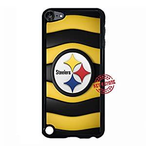Ipod Touch 5th Generation Case, Fancy Ipod Touch 5th Case Pittsburgh Steelers Team Mark Hard Plastic Phone Case for Ipod Touch 5th - [Anti-Slip] from Key4Store