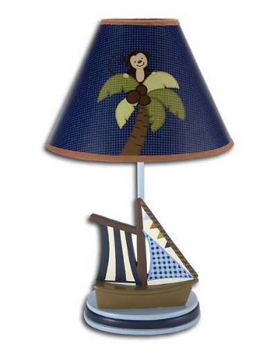 NoJo Ahoy Mate Lamp and Shade