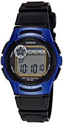 Casio Youth Digital Blue Dial Mens Watch - W-213-2AVDF (D066)