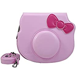 Katia Beni Hello Kitty Camera Case Bag (Pink)