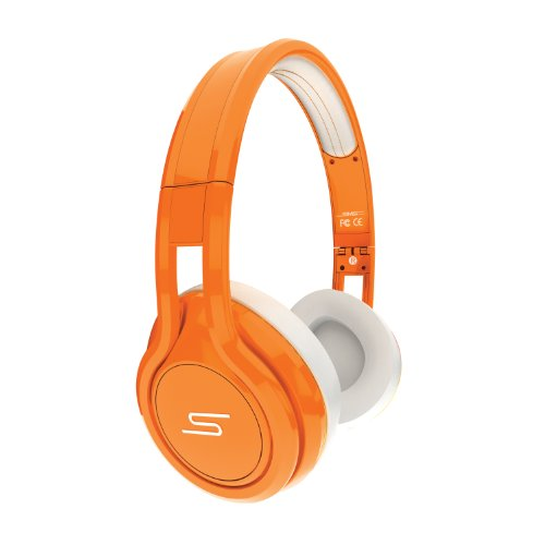 SMS Audio STREET by 50 Cent On Ear Limited Edition Headphone - Orange Black Friday & Cyber Monday 2014