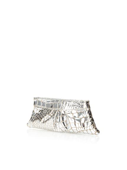 Lauren Merkin Women's Eve Clutch, Silver