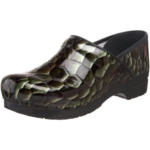 Dansko Women's Professional Tigers Eye Clog,Emerald,42 EU / 11.5-12 B(M) US