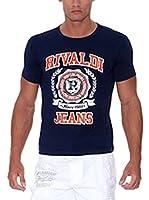 Rivaldi Camiseta Manga Corta Mijori (Azul Marino)