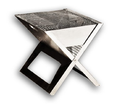 Hotspot Notebook Portable BBQ (Stainless Steel)