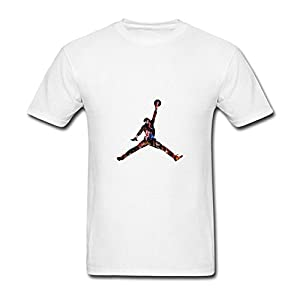 Men's Michael Jordan Logo Short Sleeve T Shirts