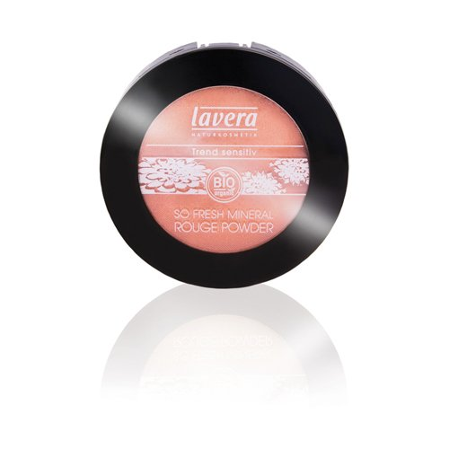 Lavera So Fresh Mineral Powder Rouge - Shimmering Apricot Light #2