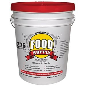 Emergency Survival Food Supply 275 Servings