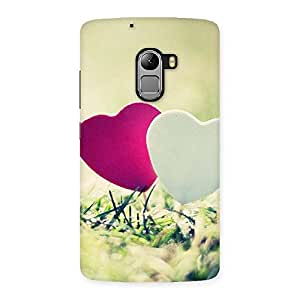 Delighted Heart Couple Multicolor Back Case Cover for Lenovo K4 Note