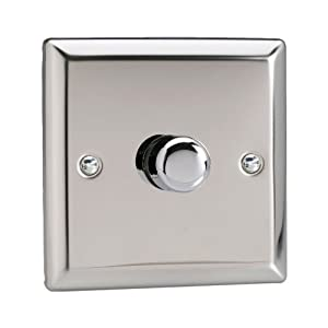 Chrome dimmer switch b&q