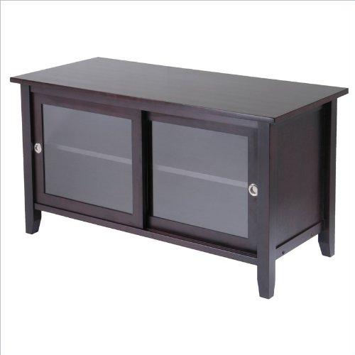 Cheap Winsome Solid Wood Media TV Stand in Espresso Finish (B001TRIOQA)