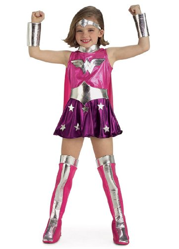 Child Pink Wonder Woman Costume