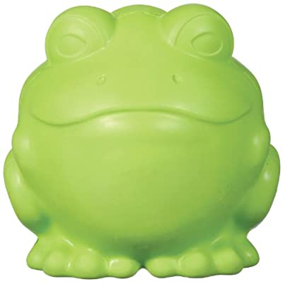 JW Pet Company Darwin the Frog Dog Toy, Large (Colors Vary)