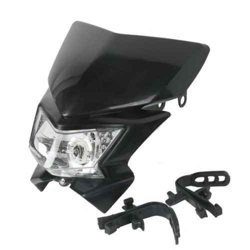 Motorcycle Head Light Dual Sport For Honda CRF150F CRF150RB CRF230F CB400 CB400F (Monster Energy Tank Pad compare prices)