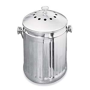 Countertop Compost : Amazon.com : Odor-Free Countertop Compost Container: 1 GALLON, Garden ...