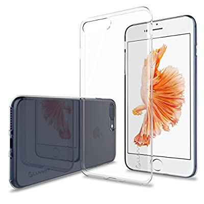 iPhone 7 Plus Case, LUVVITT [Ultra Slim] Soft Slim Flexible TPU Back Cover Transparent Rubber Case for Apple iPhone 7 Plus - Clear from Luvvitt