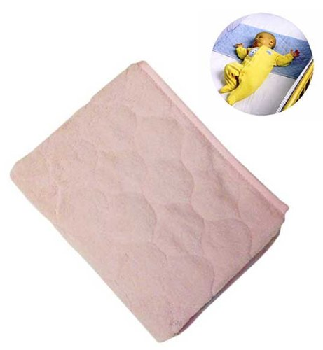 Nojo Coral Fleece Sheet Saver - Pink