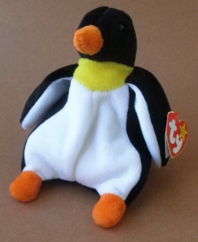 TY Beanie Babies Waddle the Penguin Plush Toy Stuffed Animal - 1