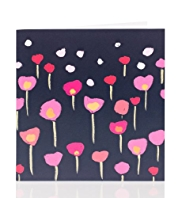 Bright Tulips Blank Card