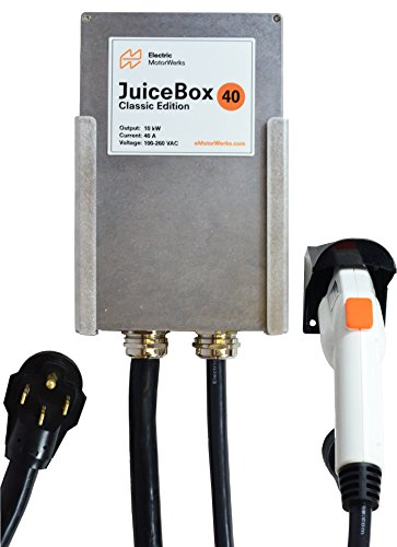 JuiceBox Classic 40-Amp Plug-in Electric Vehicle L2 Home Charging Station with 20-foot cable and NEMA 14-50 plug