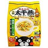 熊本 ご当地グルメ 元祖 太平燕 (たいぴーえん) 高菜とんこつ味 5食入X3個セット (くまモン マグカップサイズ イケダ食品)
